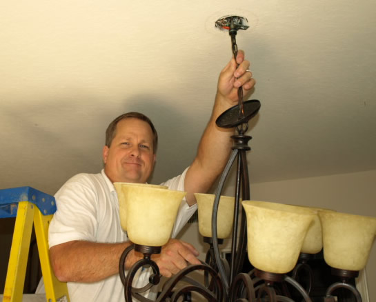 Hidden Hills Lighting Electrical Contractor Hanging Chandelier
